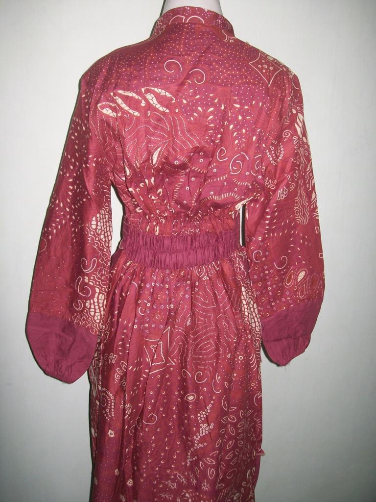 Jual Gamis Batik Murah Modern Trendy Terbaru Dan Warna