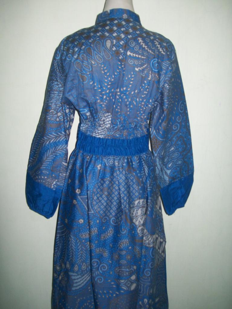 Jual Murah Gamis Batik Warna Biru Di Toko Ol Gm028 Sold Out Jarik