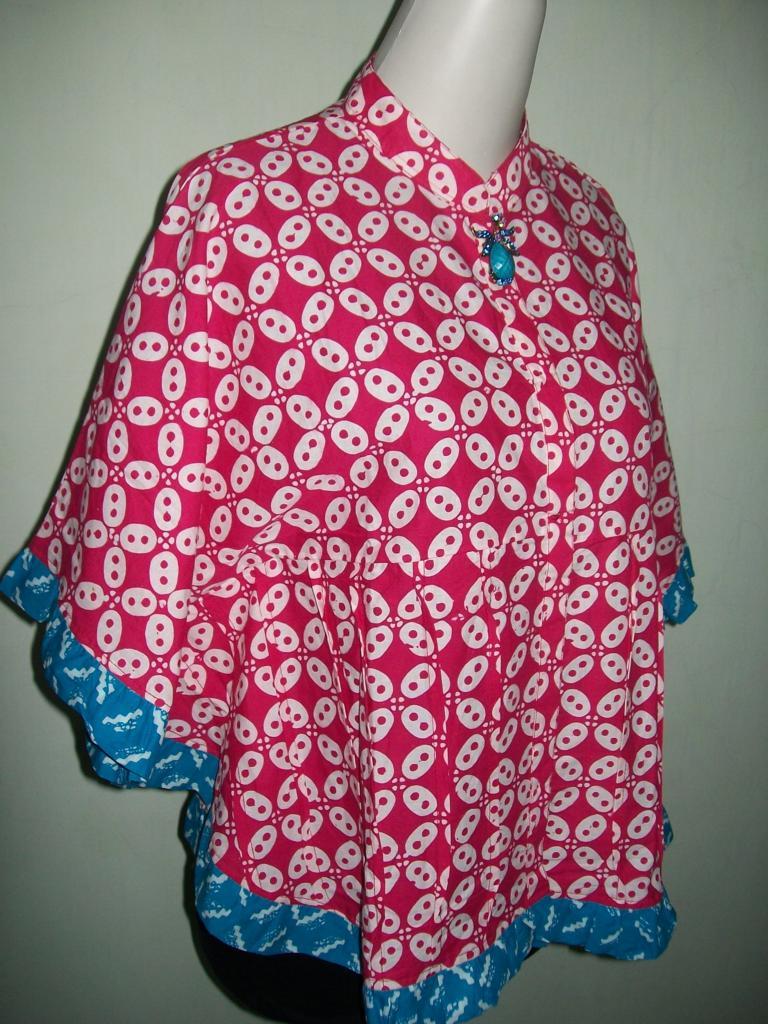 Desain Pakaian Gamis Rompi Jual Baju Batik Modern Trend