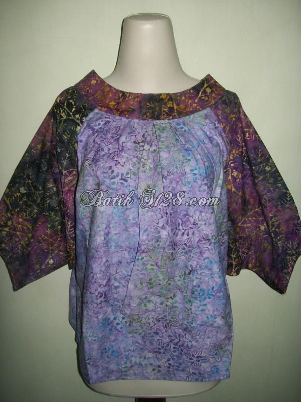 Busana Batik Santai Untuk Wanita Trendy [BLS193A]