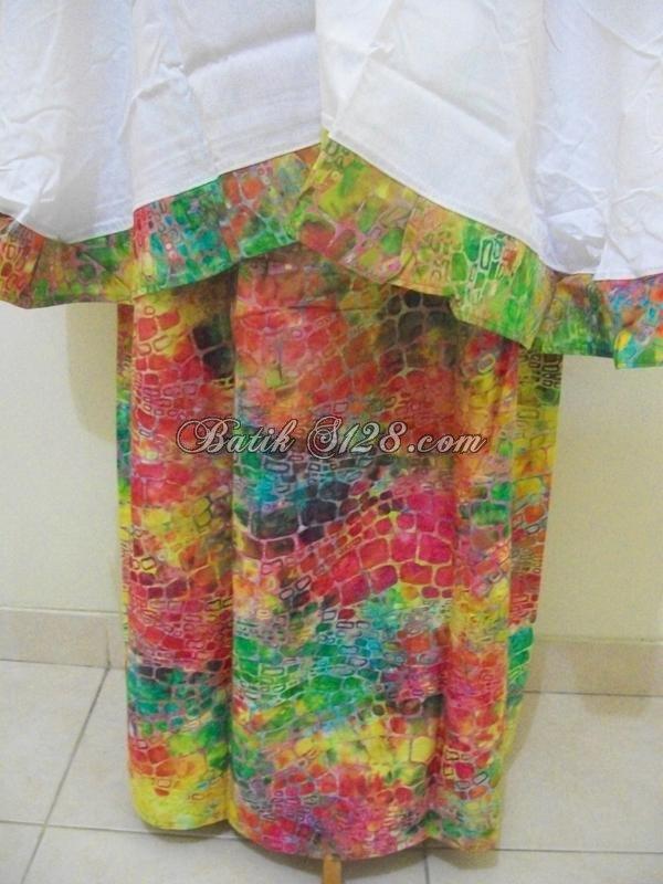 Jual Mukena Batik Murah, Yang Dijual Di Thamrin City Dan Tanah Abang [M013]