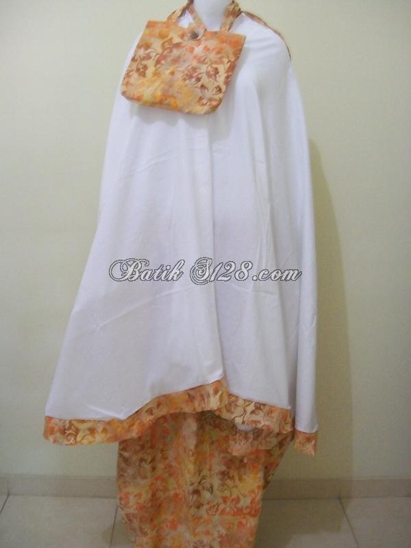 Model Mukena Batik Solo, Mukena Mode Terkini Dan Terbaru 2012 [M023]