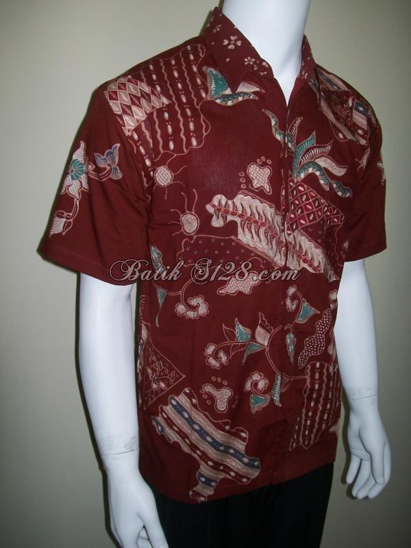 Kemeja Batik Murah, Batik Tulis Asli [LD013]