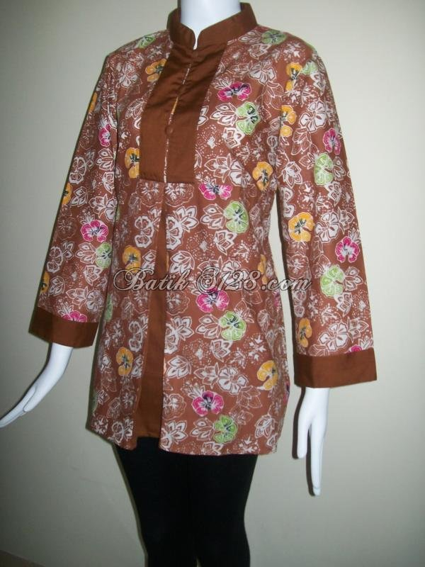 Baju Batik Murah,Model Trendy Dan Modis [BLS045]