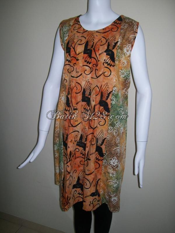 Dress BAtik Nyaman Dan Trendy Dengan Harga Grosir [DC007]