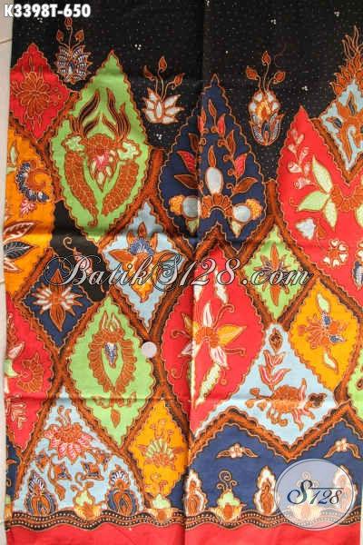 Kain Batik Modern Motif Unik Dan Mewah, Batik Tulis Premium Solo Asli Cocok Untuk Pakaian Santai Wanita Dan Pria Menunjang Penampilan Lebih Bergaya