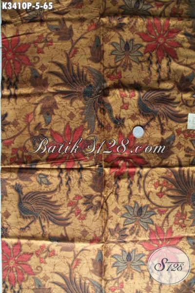 Koleksi Terbaru Kain Batik Solo Halus Motif Bagus Di Jual Online, Cocok Untuk Baju Kerja Atau Busana Resmi Bikin Penampilan Makin Mempesona [K3410P-200x110cm]