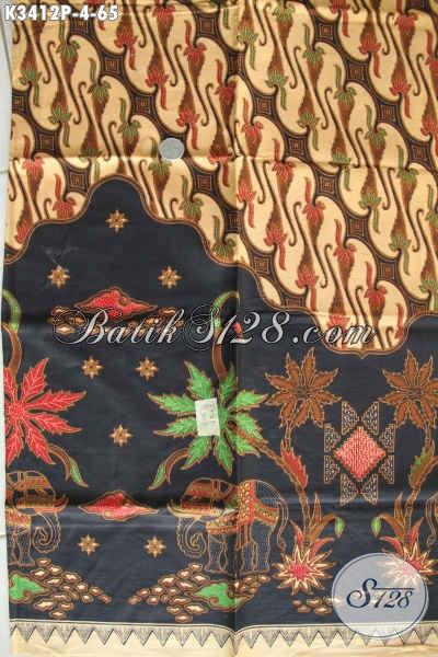 Jual Online Kain Batik Halus Tren Masa Kini, Batik Modern Klasik Bahan Busana Santai Dan Resmi Motif Elegan Proses Printing Hanya 60 Ribuan Saja
