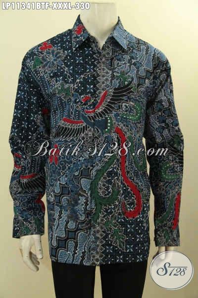 Model Baju Batik Pria Lengan Panjang Daleman Full Furing, Busana Batik Solo Terbaik Pilihan Tepat Untuk Pria Gemuk Tampil Gagah Berwibawa