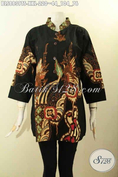 Busana Batik Wanita Gemuk Elegan Motif Unik, Busana Batik Solo Terbaik Yang Membuat Penampilan Terlihat Mempesona