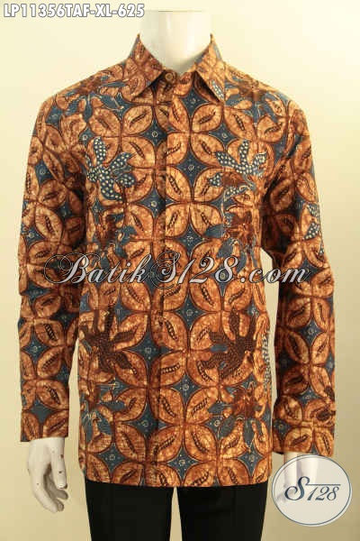 Model Busana Batik Solo Istimewa Lengan Panjang, Busana Batik Istimewa Full Furing Motif Bagus Porses Tulis Warna Alam, Pas Untuk Acara Formal Hanya 625K