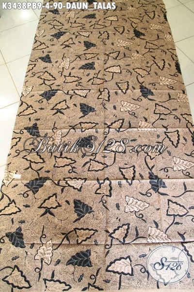 Sedia Online Kain Batik Bagus Motif Daun Talas, Batik Kain Lawasan Klasik Proses Printing Kwalitas Istimewa, Bisa Untuk Bahan Jarik Nan Elegan