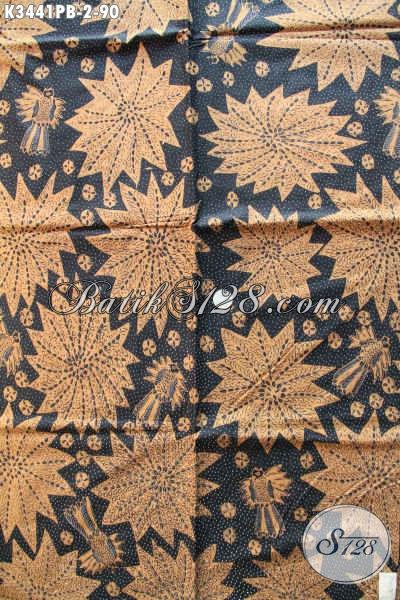 Jual Kain Batik Lawasan Motif Mewah Dengan Kombinasi Warna Klasik Nan Elegan, Batik Kain Solo Asli Proses Printing Dengan Harga Yang Terjangkau