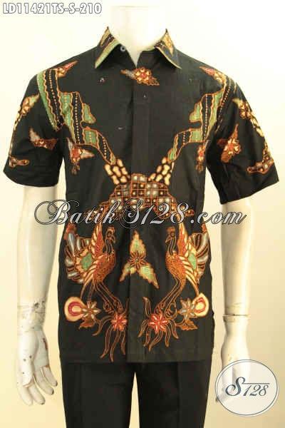 Baju Batik Solo Modis Halus Kwalits Istimewa, Busana Batik Modern Terbaik Yang Membuat Penampilan Lebih Sempurna Motif Trendy Tulis Soga Harga 210K