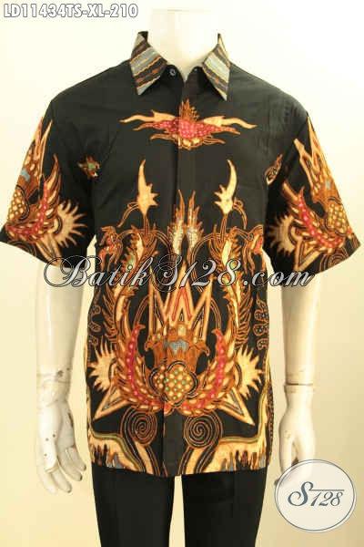 Baju Batik Solo Halus Dan Keren, Pakaian Batik Solo Asli Kwalitas Istimewa Untuk Pria Tampil Gagah Mempesona