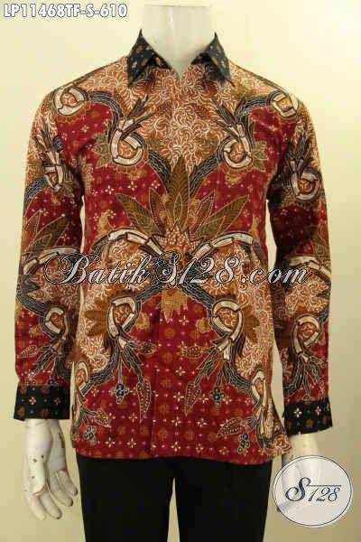 Hem Batik Mewah Lengan Panjang, Busana Batik Solo Elegan Full Furing Bahan Ade Motif Bagus Proses Tulis, Pas Banget Untuk Rapat Dan Kondangan