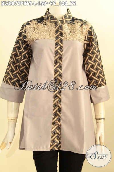 Model Baju Batik Kerja Nan Modis Busana Batik Blouse Wanita
