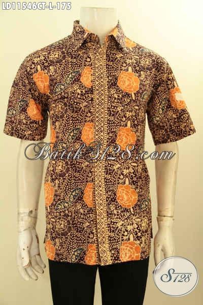 Koleksi Busana Batik Pria Terkini, Pakaian Batik Solo Jawa Tengah Nan Modis Dan Keren Bahan Adem Motif Terkini Proses Cap Tulis, Istimewa Untuk Seragam Kerja Dan Acara Santai