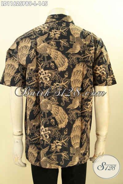 Pakaian Batik Trendy Pria Muda Dan Dewasa, Busana Batik Lengan Pendek Kekinian Kwalitas Istimewa Bahan Adem Proses Printing Cabut, Pilihan Tepat Untuk Kerja Atau Hangout