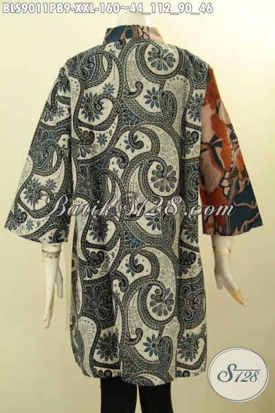 Sedia Baju Batik Blouse Keren Online, Pakaian Batik Wanita Dewasa Hadir Untuk Penampilan Berkelas Dengan Harga Terjangkau, Bahan Adem Motif Bagus Proses Printing Cabut Lengan 3/4 Harga 160K