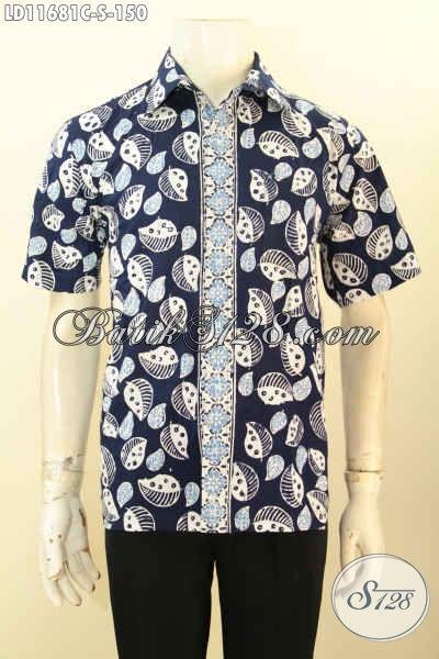 Batik Kemeja Trendy Model Tebaru Berpadu Motif Keren Proses Cap, Busana Batik Pria Muda Untuk Tampil Beda Dan Gaya Hanya Dengan 100 Ribuan