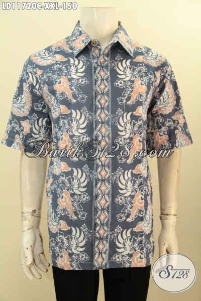 Batik Kemeja Solo Lengan Pendek Kwalitas Istimewa Dengan Harga Terjangkau, Baju Batik Nan Istimewa Motif Bagus Bahan Adem Proses Cap, Bisa Untuk Kerja Dan Kondangan