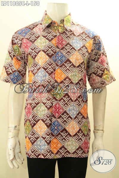 Toko Pakaian Batik Online Terlengkap, Sedia Kemeja Batik Modis Motif Unik Desain Kekinian, Busana Batik Modern Proses Cap Asli Solo, Tampil Ganteng Dan Modis