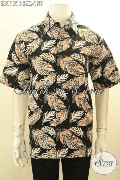 Pusat Belanja Busana Batik Online Terlengkap, Sedia Kemeja Batik Pria Lengan Pendek Motif Keren Bahan Halus Proses Cap, Cocok Buat Pesta Dan Kerja