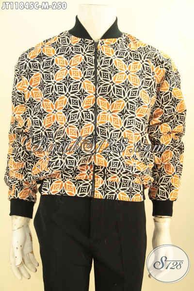 Koleksi Terkini Jaket Batik Bomber Khas Jokowi, Berbahan Halus Motif Terbaru Proses Cap Lebih Mewah Dengan Lapisan Dormeuil, Tampil Makin Percaya Diri