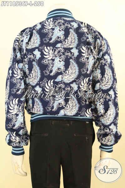 Jaket Batik Solo Model Bomber Kwalitas Istimewa, Produk Terkini Jaket Batik Yang Bikin Fashion Pria Lebih Berkelas Dan Kekinian