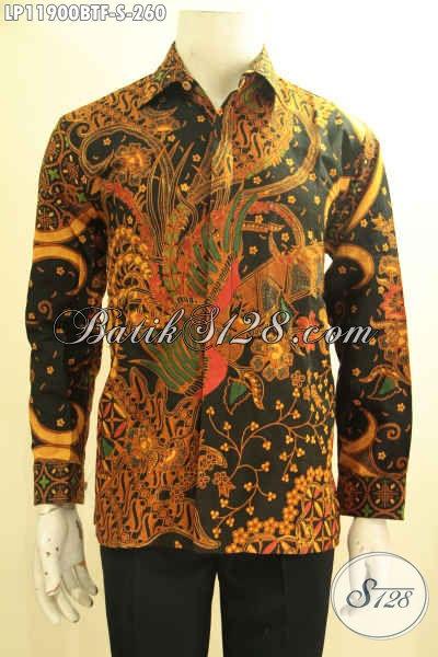Hem Batik Bagus Lengan Panjang Full Furing, Produk Pakaian Batik Solo Jawa Tengah Motif Terbaru Yang Cocok Untuk Kondangan Dan Rapat Kerja