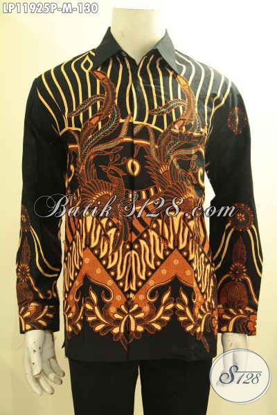 Kemeja Batik Printing Halus Tangan Panjang, Pakaian Batik Solo Nan Istimewa Motif Terbaru Bahan Adem Yang Nyaman Di Pakai