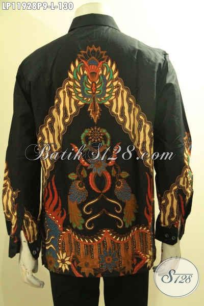 Olshop Busana Batik Paling Up To Date, Sedia Kemeja Tangan Panjang Batik Printing Halus Motif Terkini, Elegan Buat Acara Resmi Dan Kondangan