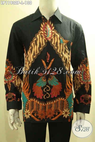 Baju Kemeja Tangan Panjang Bahan Batik Printing Solo, Hadir Dengan Motif Mewah Kwalitas Istimewa Yang Menunjang Penampilan Lebih Gagah Dan Berkelas Harga Murmer