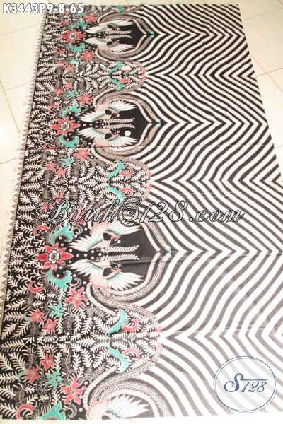 Kain Batik Halus Proses Printing Kwalitas Istimewa, Hadir Dengan Motif Elegan Dan Berkelas, Cocok Untuk Busana Resmi Dan Seragam Kerja Harga Murmer [K3443P-200x110cm]