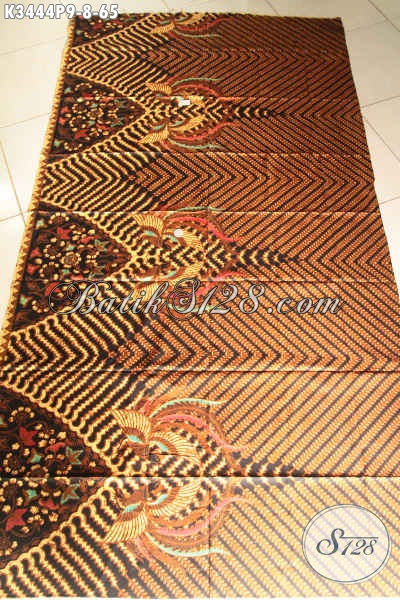 Kain Batik Motif Klasik, Kain Batik Printing Kwalitas Halus Asli Buatan Solo, Pas Banget Untuk Busana Kondangan Dan Acara Formal [K3444P-200x110cm]
