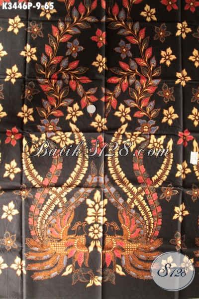 Jual Kain Batik Printing Murah Meriah, Batik Kain Solo Motif Bagus Bahan Busana Wanita Dan Pria Menunjang Penampilan Lebih Sempurna [K3446P-200x110cm]