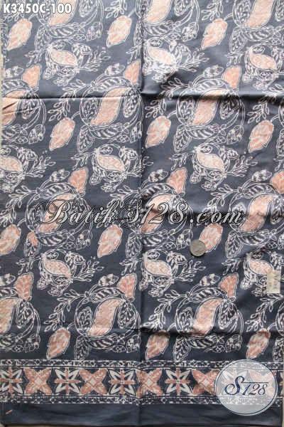 Kain Batik Harga Terjangkau, Batik Kain Solo Nan Istimewa Motif Terbaru Jenis Cap, Bisa Untuk Busana Kerja Ataupun Baju Santai [K3450C-200x110cm]