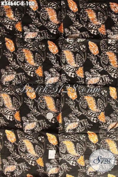 Kain Batik Solo Terbaru Bahan Busana Santai Pria Wanita, Batik Modis Motif Unik Jenis Cap, Cocok Juga Untuk Pakaian Kerja Kantor