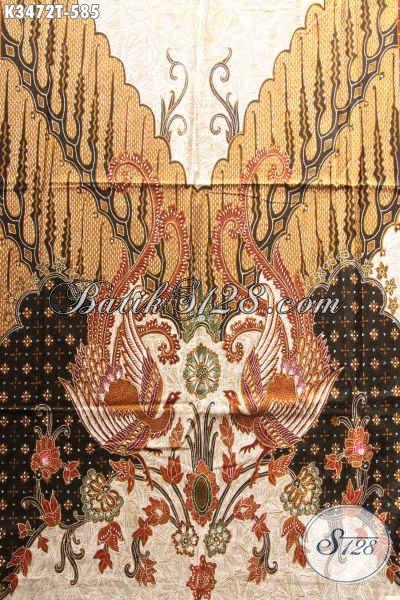 Sedia Kain Batik Tulis Bahan Kemeja Pria Nan Mewah, Batik Halus Kekinian Motif Elegan, Pas Banget Untuk Busana Kondangan Tampil Berwibawa