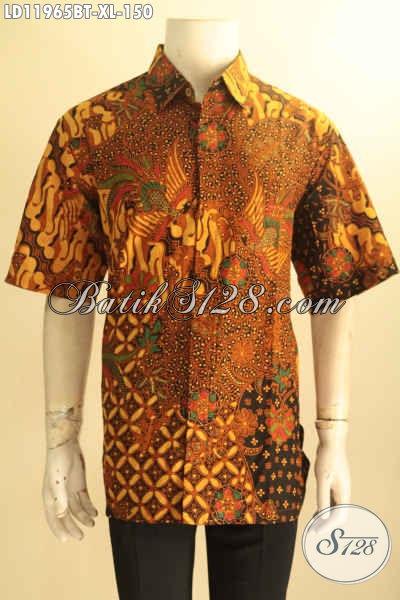 Model Busana Batik Pria Terkini, Pakaian Batik Solo Jawa Tengah Asli Motif Elegan Klasik Jenis Kombinasi Tulis, Istimewa Untuk Acara Resmi Dan Seragam Kerja Kantoran