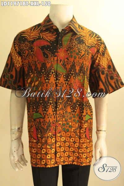 Sedia Kemeja Batik Pria Istimewa Big Size 8581de3593