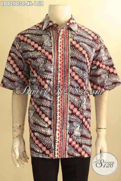 Jual Busana Batik Solo Jawa Tengah, Pakaian Batik Modis Terkini, Kemeja Batik Jawa Tengah Halus Kwalitas Istimewa Motif Bagus Jenis Cap Hanya 150K