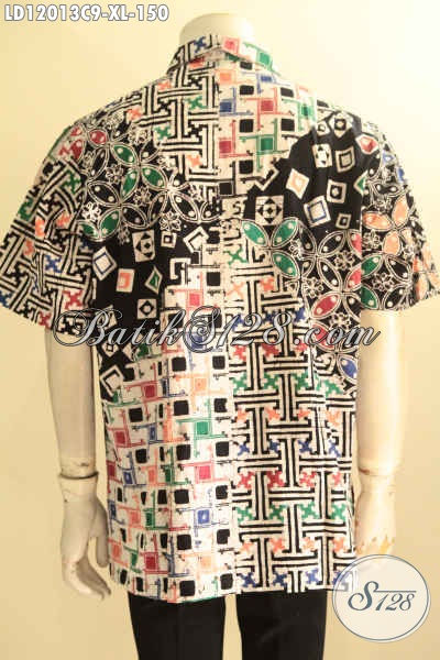 Kemeja Batik Pria Dewasa Model Lengan Pendek, Baju Batik Solo Istimewa Motif Terbaru Jenis Cap, Pilihan Tepat Untuk Penampilan Gagah Dan Rapi
