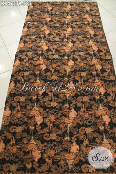 Kain Batik Tulis Solo Motif Elegan Cocok Untuk Busana Formal Wanita Dan Pria Yang Bikin Penampilan Terlihat Mewah Berkelas Hanya 500 Ribuan SAja [K3475T-240x110cm]