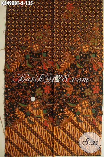 Toko Batik Online Terlengkap, Sedia Kain Batik Bagus Jenis Kombinasi Tulis Motif Klasik, Bahan Busana Berkelas Pria Lengan Pendek Maupun Panjang