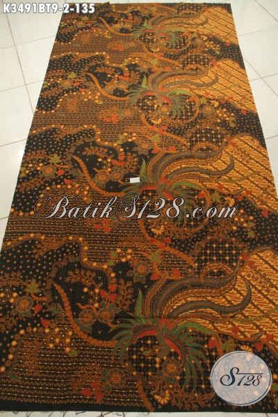 Kain Batik Bahan Kemeja Pria Lengan Pendek, Batik Bahan Baju Batik Cowok Lengan Panjang, Batik Solo Terbaik Jenis Kombinasi Tulis Harga Terjangkau