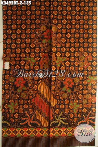 Koleksi Terbaru Kain Batik Solo Nan Istimewa, Batik Halus Motif Elegan Klasik Jenis Kombinasi Tulis, Pilihan Terbaik Untuk Busana Berkelas Dan Nyaman Di Pakai