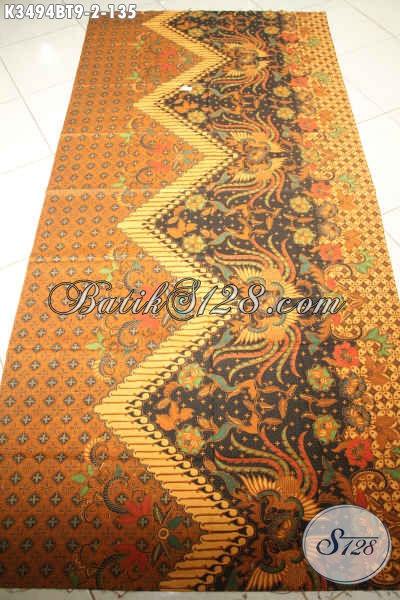 Kain Batik Khas Jawa Tengah, Batik Motif Klasik Proses Kombinasi Tulis Bahan Busana Pria Lengan Panjang Elegan Dan Berkelas Dengan Harga Terjangkau