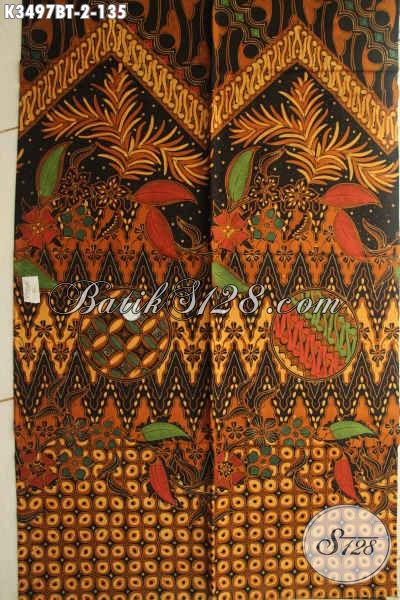 Kain Batik Solo Terbaru Jenis Kombinasi Tulis, Batik Istimewa Motif Klasik Bahan Aneka Busana Santai Dan Resmi, Menunjang Penampilan Makin Sempurna